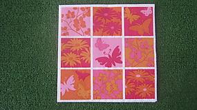 Papier - ružovo-oranžová - 7880181_