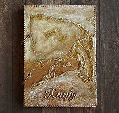 Papiernictvo - Zlatý receptár-vymeniteľné,doplniteľné vnútro%Zľava - 7879909_