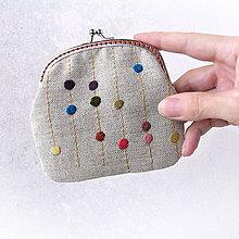 Peňaženky - Peňaženka Farebné kvapky - 7877462_