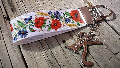 Kľúčenky - kľúčenka s písmenom - 7882552_