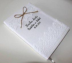 Papiernictvo - Svadobná kniha hostí........ - 7884427_