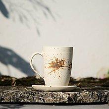 Nádoby - Hrnek Hezounek s podšálkem 400 ml - Vůně kávy - 7884340_