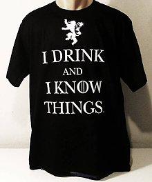 Tričká - Tričko DRINK - 7884329_