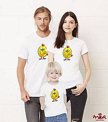 Tričká - Chicklet - rodinné oblečenie - 7882444_