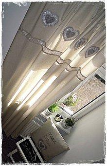 Úžitkový textil - Závesy - 7883788_