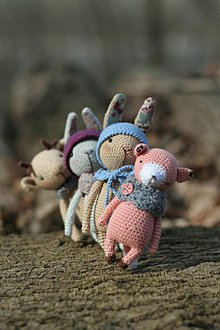 Hračky - Zvieratká na prechádzke - 7885223_
