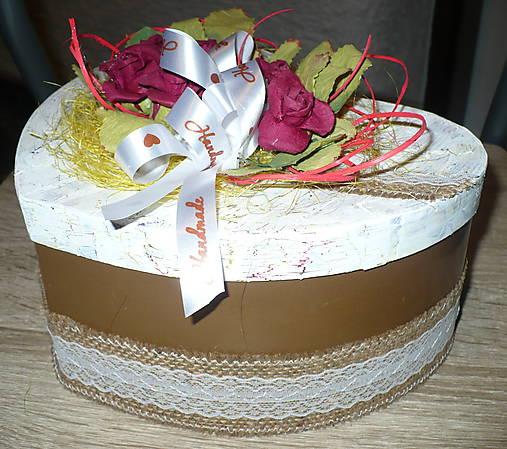 b2cf6e6c3 Krabička v tvare srdiečka :-) / Yvetka - SAShE.sk - Handmade Krabičky