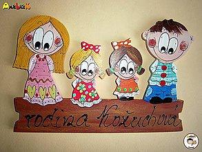Tabuľky - Menovka - rodinka - 7888555_