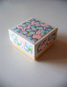 Krabičky - nezábudková.. - 7887019_