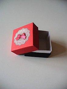 Krabičky - zaľúbená... - 7887088_