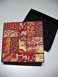 "Krabičky - krabička ""patchwork"" - 7888537_"