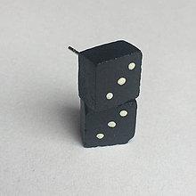 Náušnice - Betónky Dice III (kocka) - 7888773_