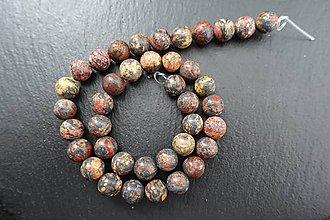 Minerály - Jaspis leopardia koža I 10mm - 7887962_