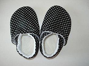 Topánočky - látkové capačky - 7887040_