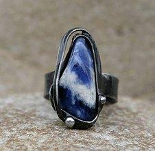 Prstene - Sodalit prsteň - 7888403_