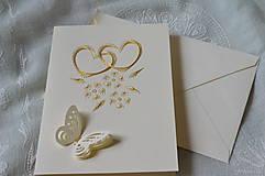 Papiernictvo - Svadobné blahoželanie - 7885875_
