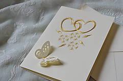 Papiernictvo - Svadobné blahoželanie - 7885876_