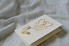 Papiernictvo - Svadobné blahoželanie - 7885884_
