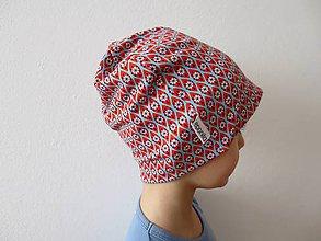 81f75a048 Detské čiapky - Dvojvrstvová bavlnená čiapka - veľkosť 52-54 - 7890313_