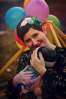 Ozdoby do vlasov - Byť štýlovou mamou - Lotosový kvet - 7892019_