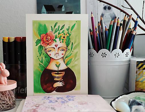 Dušička Kvetinová