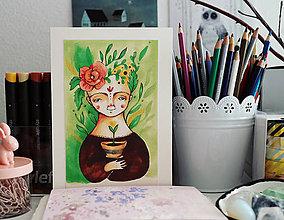 Grafika - Dušička Kvetinová - 7890026_