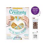 Návody a literatúra - Creativity časopis č. 79 Február 2017 + 2 darčeky / vyrezávacie šablóny - 7889928_