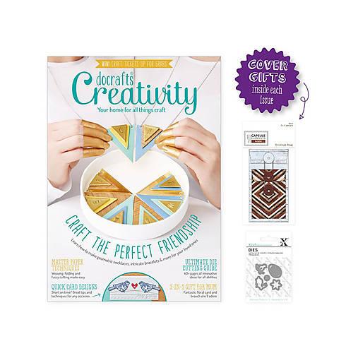 Creativity časopis č. 79 Február 2017 + 2 darčeky / vyrezávacie šablóny