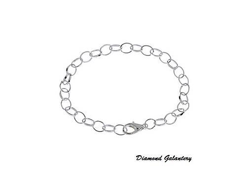 Základny náramok na prívesky 20 cm - II   diamond galantery - SAShE ... e4c52b5ed63