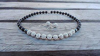 Sady šperkov - SET - náhrdelník, náušnice - 7889869_