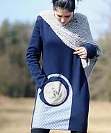 Šaty - Jelen v borovém háji - 7889438_