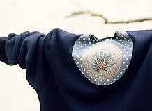 Šaty - Jelen v borovém háji - 7889447_