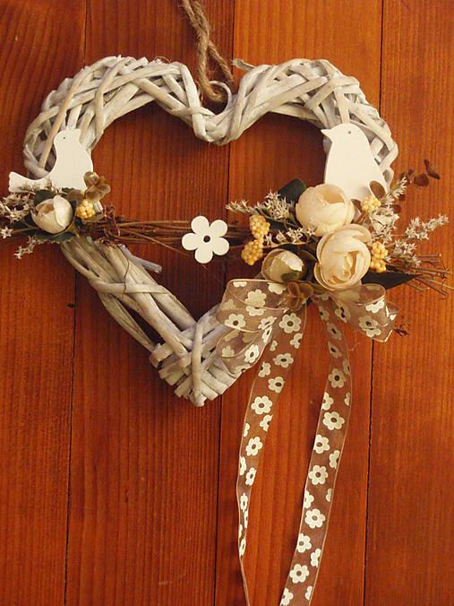 dd18c72d8 Veľkonočné vintage srdce s vtáčikmi / erikak - SAShE.sk - Handmade ...