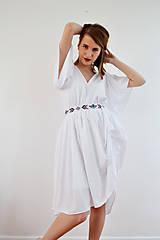 Šaty - Biele letné šaty pre vílu - 7889122_