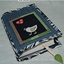 Úžitkový textil - vtáčik - 7892880_