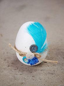 Dekorácie - Betónové vajíčko 6 - 7890304_