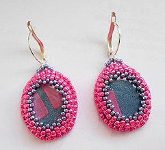 Náušnice - Pink - 7889875_