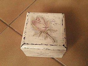 Prstene - Krabička na prstienky. - 7896660_