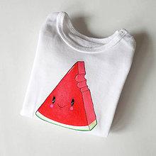Detské oblečenie - Body melónik - 7895111_