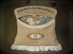 Úžitkový textil - kapsár Chic Rose Boheme , skladem - 7894616_