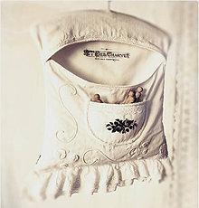 Úžitkový textil - kapsár Linen Cream - 7896683_