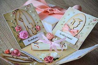 Papiernictvo - Blahoželanie na promócie pre ženu - 7894684_