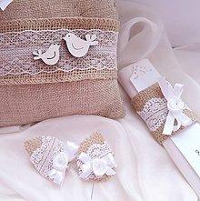 Darčeky pre svadobčanov - sada \