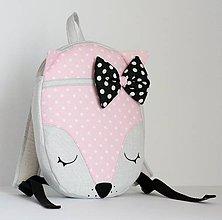 Detské tašky - RUKSAK BABY LÍŠKA od 1,5r. - 7895335_