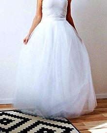 c04592c923e7 Sukne - Svadobná sukňa tylová dlhá - 7895109