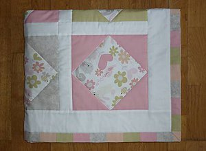 Textil - Deka pre deti - dva varianty (PASTELOVÉ KVIETKY) - 7895498_