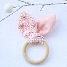 Hračky - Drevené hryzátko pre najmenších Princeznička - 7897832_
