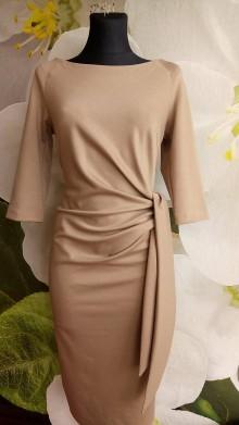 Šaty - Skvele šaty s viazačkou - 7895519_