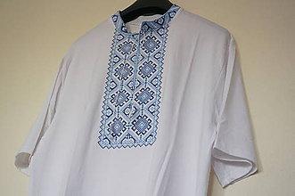 Oblečenie - vyšívané tričko Roman - 7893834_