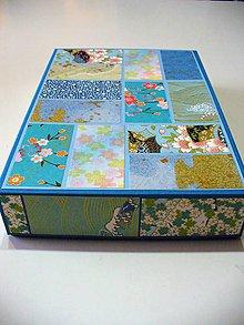 "Krabičky - krabička ""patchwork"" - 7896847_"
